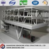 Construction commerciale de structure métallique pour le système de service