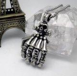 Сталь титана ювелирных изделий способа готского ожерелья людей черепа привесная