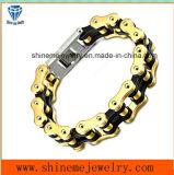 Juwelen van de Keten van de Laag van de Mens van het Karakter van de Ketting van de Armband van het roestvrij staal de Dubbele (BL2819)