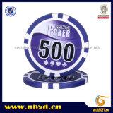 11,5g Sticker Poker Chip com autocolantes disponíveis