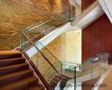 Glasrailing_highquality Edelstahl-Treppenhaus Handrail_Ornamental Geländer