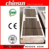 Diseño de madera indio de la puerta con el mejor PVC