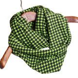 Le cerceau d'hirondelle d'étoile de bébé de dessin animé de l'hiver de coton a contrôlé l'écharpe de boucle d'avançon d'usure du collet de la fille du garçon de colliers de boucle de gosses (SW802)