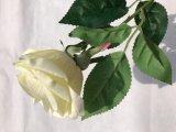 가정 훈장 결혼식 장식이 인공적인 로즈에 의하여 결혼식 꽃다발 타이 왕 로즈 중류 실크 꽃 장미 꽃이 핀다