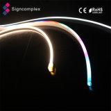 Lâmpada de néon da decoração da festa de Natal, sinal de néon do cabo flexível do diodo emissor de luz IP68 5050 ao ar livre