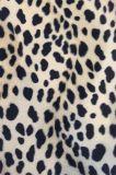 형식 의복 (EDM5075)를 위한 동물성 패턴 인쇄 우단 직물