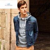 Rivestimenti del denim degli uomini sottili di nuovo stile dai jeans della mosca