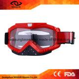 beschermende brillen Mx van de Motocross van de Glazen van de Motor van de Toestellen van de Toebehoren van de motorfiets kleurden de Beschermende Flexibele UV
