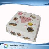 Bonitinha papel cartão Caixa de Embalagem para Alimentos/ Bolo (xc-fbk-029)