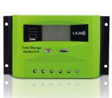Sistema de Energia Solar 30um controlador de carga inteligente com USB