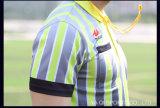 Futebol seco rápido Jersey o futebol americano Jersey do futebol de Jersey do modelo novo do terno do árbitro
