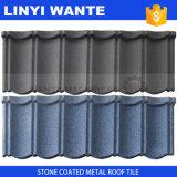 Mattonelle di tetto rivestite di pietra galvanizzate riciclabilità del metallo