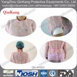 Robe chirurgicale stérile protectrice remplaçable de fournitures médicales avec la manchette tricotée