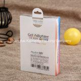 Нов коробка случая PVC конструкции пластичная для пакета случая мобильного телефона