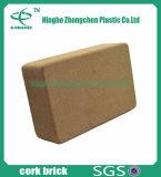 De Natuurlijke Cork Cork van de Premie van het Blok van de Yoga Baksteen van uitstekende kwaliteit van de Yoga