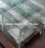 Tanque de peixe de vidro personalizado / 4 em 1 aquário de vidro ultra claro