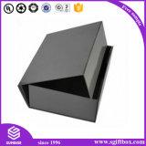 Caixa de presente de empacotamento de Perper do nó da curva da roupa luxuosa magnética