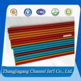 Verschillende Oppervlaktebehandeling en de Verschillende Buis van het Aluminium van Kleuren T5 T6