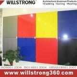 4мм полиэстер с покрытием алюминиевых композитных панелей для входа
