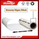 90gsm 2, 400mm*94pouces Sublimation Transfert de chaleur du papier pour imprimante numérique grand format
