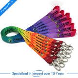 Plein de couleurs imprimées par Sublimation Thermique cordon pour cadeau de promotion