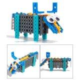 14885505-4 in 1 Dier veranderde Blokken van het Stuk speelgoed DIY van de Uitrusting van het Blok de Onderwijs Creatieve Geplaatst 33PCS (de Buffels van de Vissen van de Kameel van de Geit)