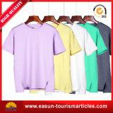 T-shirt estampé du coton des hommes en gros, vente en gros blanc de la Chine de T-shirt