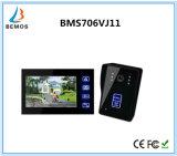 Die 7 Zoll-Hände geben die 4 Draht-Farben-Video Doorphone mit Kamera frei