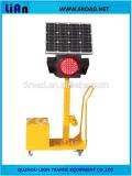 Feux de signalisation de trafic solaire mobile