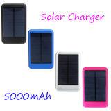 Côté solaire 8000mAh d'énergie solaire de téléphone mobile de bloc d'alimentation de chargeur