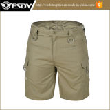 Multi-Карманн Mens звероловства Tan брюки тактических воинских Breathable короткие