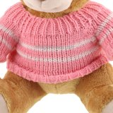 De nieuwe In het groot Teddybeer van het Stuk speelgoed van de Pluche van het Ontwerp met Roze Sweater