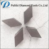 Segmento de moedura do diamante elevado do cobalto para usado na máquina de moedura