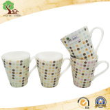 Abitudine una tazza di ceramica dalla 11 oncia per la forma di v opaca