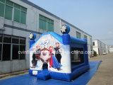 Neuer Entwurfs-blaues aufblasbares Prahler-Schloss