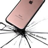 C&T borran el caso de parachoques trasero de la cubierta de la absorción de choque del diseño de la caja TPU del teléfono celular del panel de la PC dura para el iPhone 7