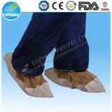 Couverture non-tissée non tissée remplaçable de chaussure de couverture de chaussure