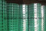Rouleaux de couleur verte de treillis métallique soudé