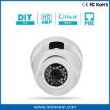 Hete Poe van de Veiligheid van kabeltelevisie 4MP IP van de Koepel Camera
