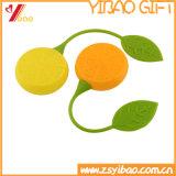 Setaccio a forma di limone del tè del silicone del silicone del grado di Infuser /Food del tè del silicone di disegno bello
