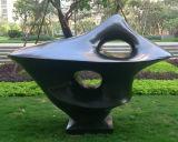 Ornamento exterior abstrato da escultura do jardim