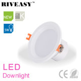 5W 2.5 pouces LED Downlight éclairage Spotlight lampe LED