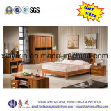 Möbel des China-Fabrik-König-Size Bed Wooden Bedroom (SH-014#)