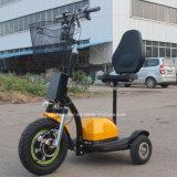 Scooter électrique de la CE Roadpet 500W pour des pays d'UE Zappy