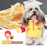 Design Personnaliser Mcdonald Dog Clothing Dogcosplay Costumes pour animaux de compagnie