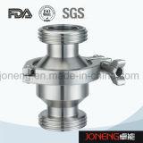 Тип задерживающий клапан струбцины нержавеющей стали санитарный (JN-NRV2001)