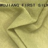 Tela Chiffon da dobra da mistura do algodão de seda, tela de seda de Ggt da dobra, tela de seda de Georgette da dobra