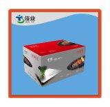 Caja de cartón acanalado de empaquetado acanalada de la aduana del rectángulo de papel de la impresión a todo color
