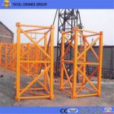 6ton Turmkran-anhebender Kapazitäts-flache Oberseite-Turmkran