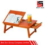 Деревянный стол для сбывания, многофункциональная складывая таблица компьютера кровати